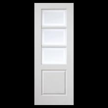 White Moulded Andorra Glazed Door