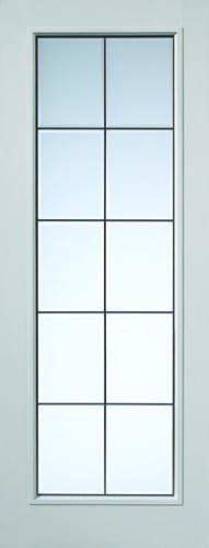 JBK White Moulded Decima doors