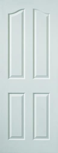 JBK White Moulded Edwardian grained doors