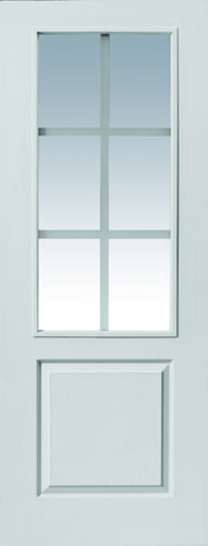JBK White Moulded Faro FD30 doors