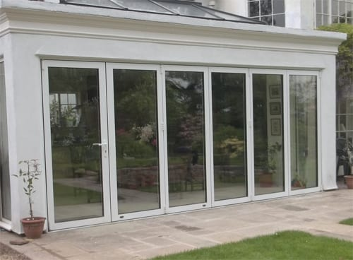 Shield Upvc 6 Door folding sliding doors