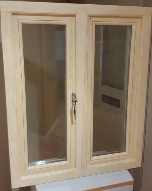 Sunvu Oak Casment Window Fixed Open 870mm W X 1050mm H