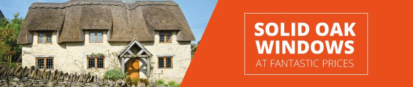 Oak Casement Windows by SunVu