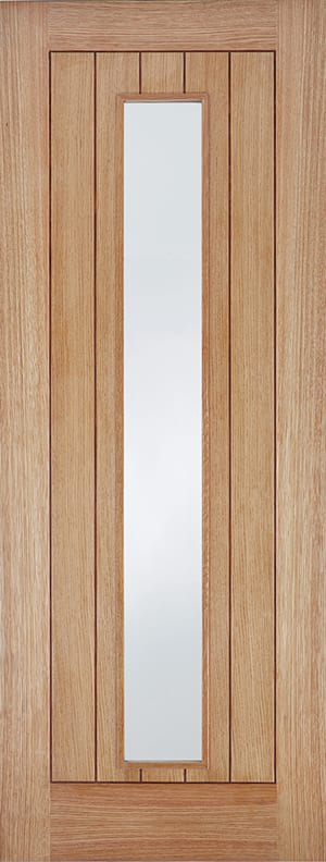 LPD Oak Somerset Glazed Door