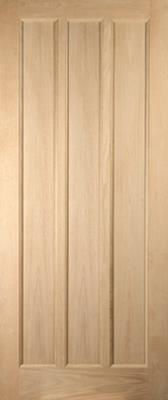 Jeldwen Lexington oak entrance door