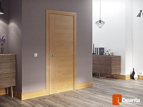Deanta Cadiz White Oak Panel Door Doors Windows Stairs
