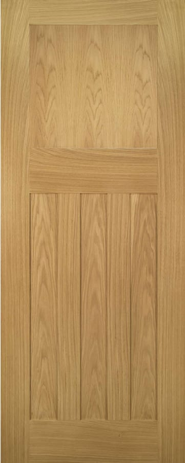 Deanta Cambridge White Oak Panel Door Doors Windows Stairs
