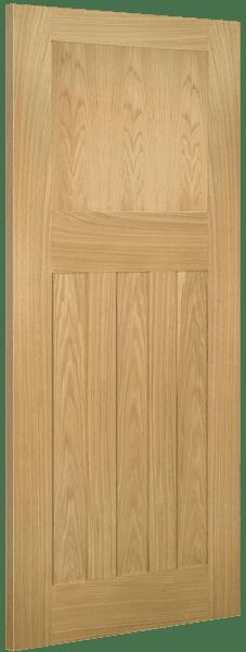 Deanta Cambridge White Oak Panel Door Doors Windows Stairs