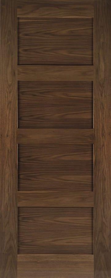Deanta Coventry Walnut Door Doors Windows Stairs