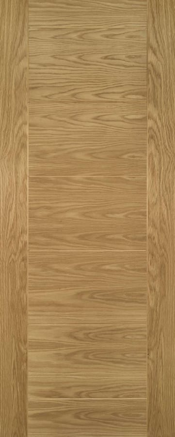 The Deanta Seville Prefinished Oak Doors are prefinished internal oak doors with flush bold lines