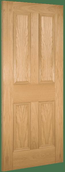 Deanta Kingston Oak Door Doors Windows Stairsdoors