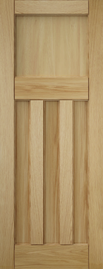 Curated Deco_Oak_3 Panel