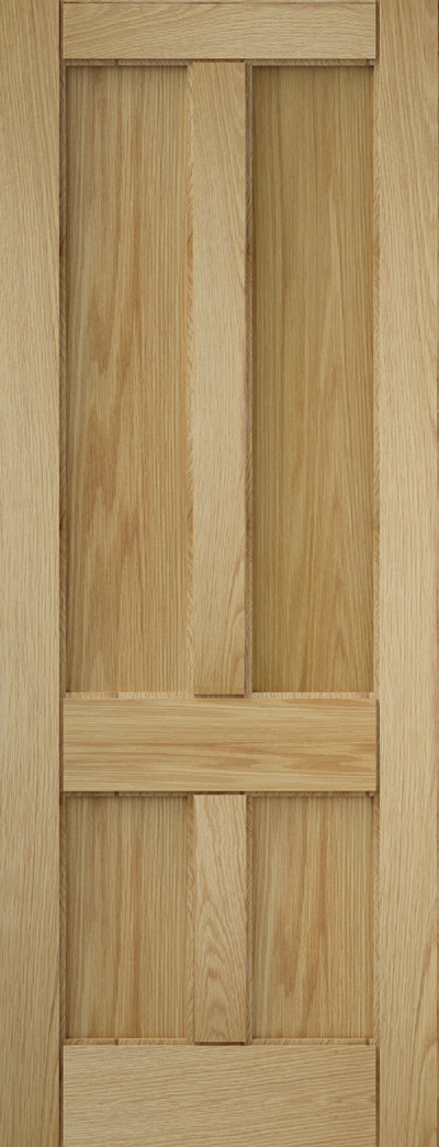 Curated Deco_Oak_4 Panel