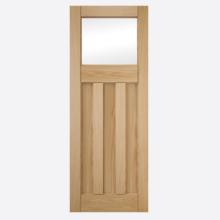 Deco 3 Panel Clear Glazed Door