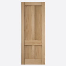Deco 4 Panel Oak Door