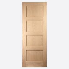 Grange Shaker 4 Panel Sliding Barn Door