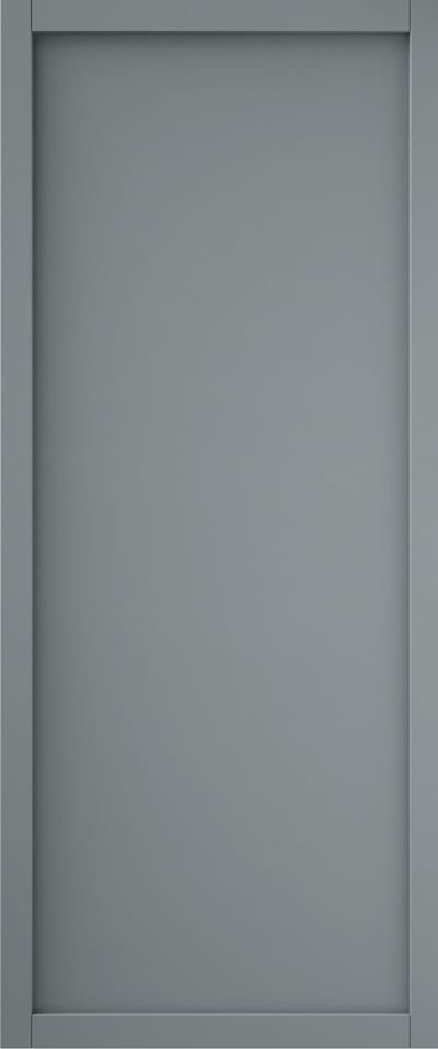 Curated SLIM-LINE 1 PANEL GREY - CUTOUT