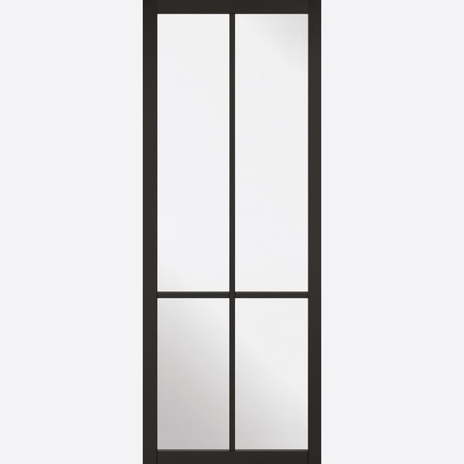 Black Liberty 4L Glazed Door