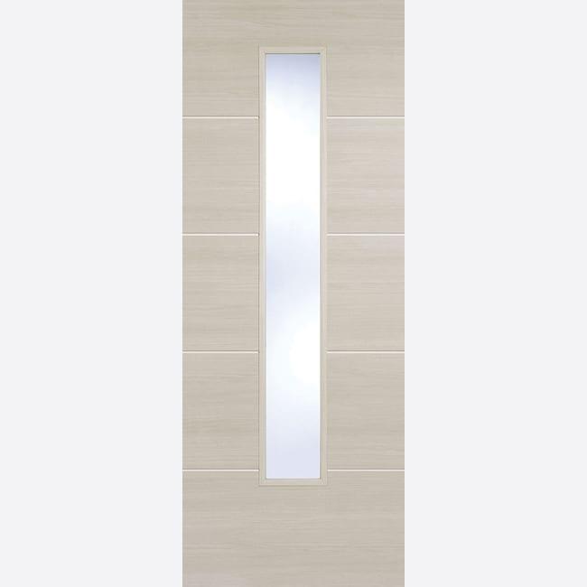 Ivory Laminated Santandor Glazed Door