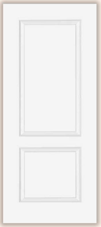 LPD Bruges prefinished white door