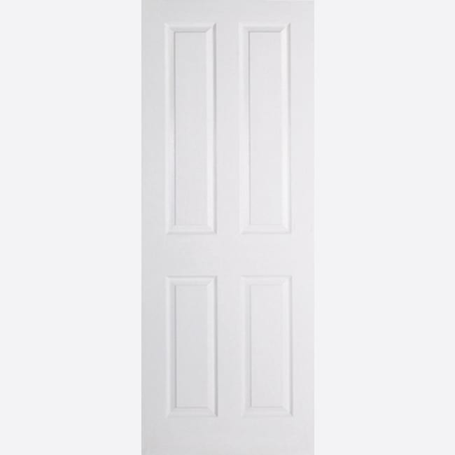 White-Moulded-Textured-4P door