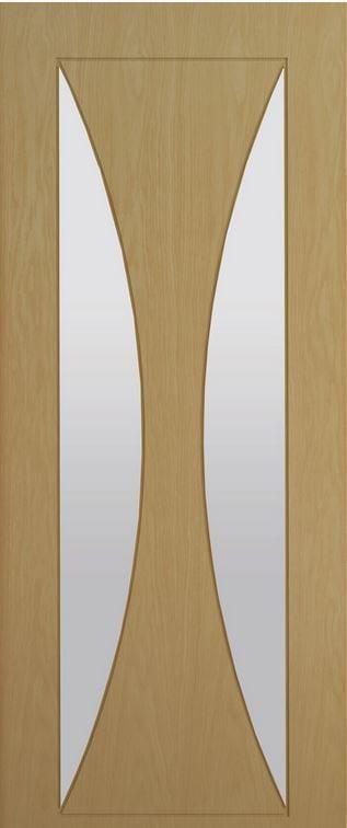 Deanta Sorrento Glazed oak door