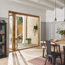 Kinsley Folding sliding Patio doorset