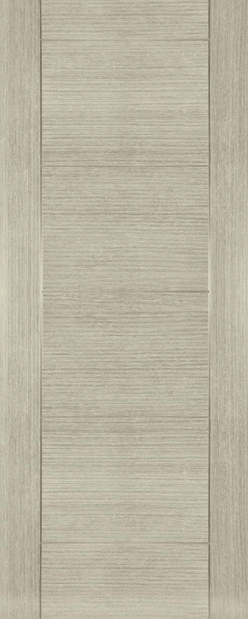 Deanta Montreal Light Grey Ash Door
