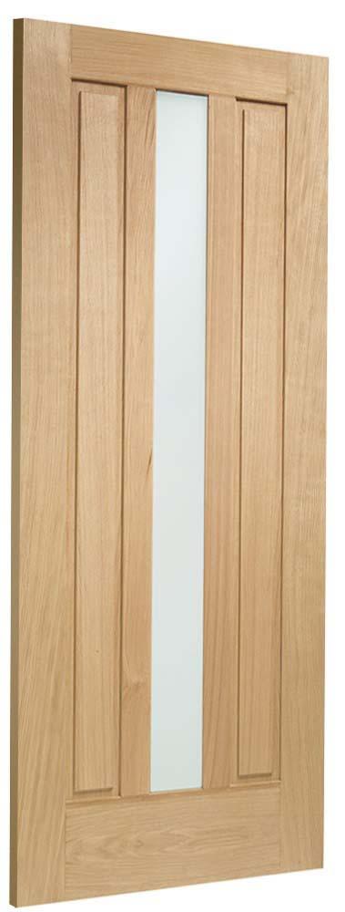 Padova oak door side view
