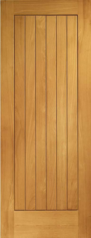 Suffolk pre-finished external oak door
