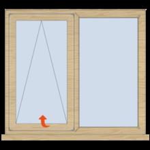 Standard Timber Casement Top Hung Window 1765mm(w)