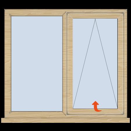 Timber Casement Window Top Hung - Fixed/Open - Doors ...