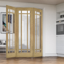 Kerry Oak Folding Doors