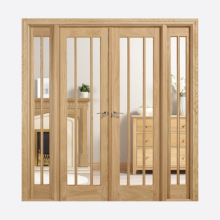 Room Dividers Oak Lincoln W6 Doors