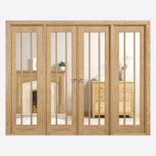 Room Dividers Oak Lincoln W8 Doors