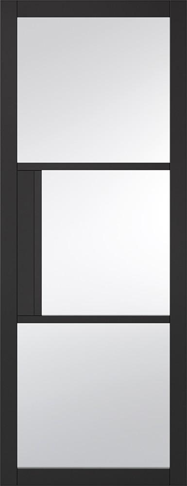 Black Tribeca 3L Door