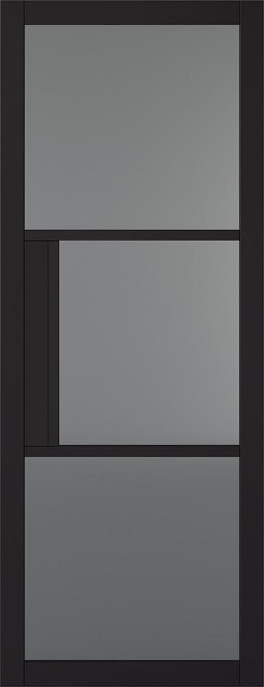 Black Tribeca 3L Tinted Door