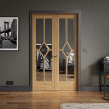 Room Dividers Oak Reims W4 Doors