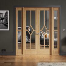 Room Dividers Oak Reims W6 Doors