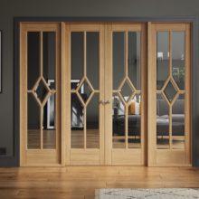 Room Dividers Oak Reims W8 Doors