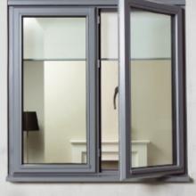 Grey UPVC Windows