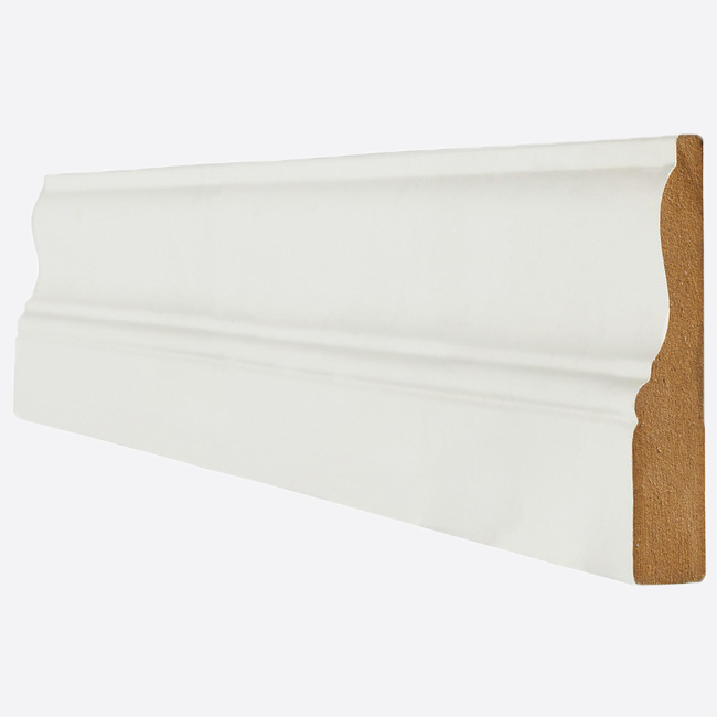 Primed White Architrave Ogee