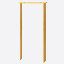 Softwood Internal Door Lining Set