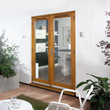 Canberra Oak French Doorset