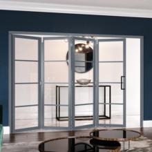 Grey 4 Lite Slim-Line Room Divider